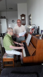 pa op de piano
